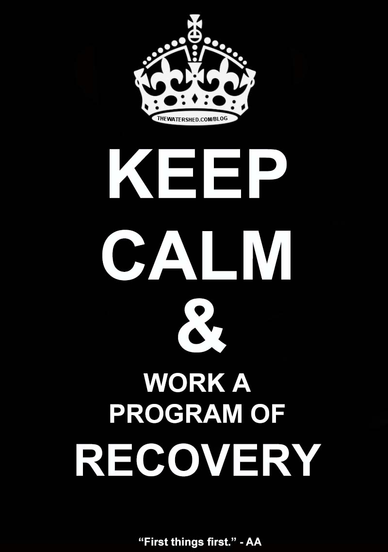 Have a Sober Holiday Season: Keep Calm and Work a Program of Recovery!